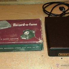 Teléfonos: RECORD - O - FONE. Lote 50919333