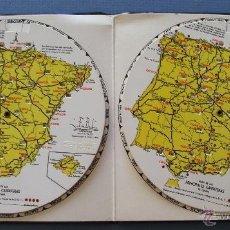 Antigüedades: 2 CALCULADORAS FABIL: DISTANCIAS ENTRE CIUDADES PRINCIPALES DE ESPAÑA, OBSEQUIO M.ROBERTO TIMOR,1958. Lote 50937185