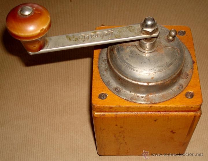 Antigüedades: ANTIGUO MOLINILLO DE CAFÉ MARCA LEHNARTZ ALEMÁN - Foto 5 - 50944552