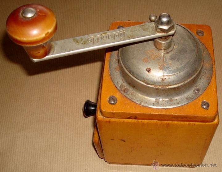 Antigüedades: ANTIGUO MOLINILLO DE CAFÉ MARCA LEHNARTZ ALEMÁN - Foto 6 - 50944552