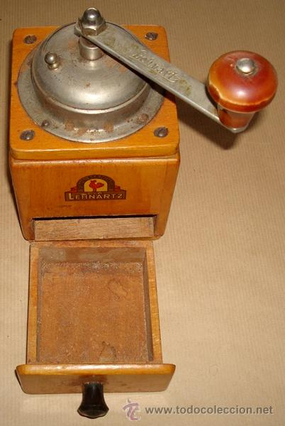 Antigüedades: ANTIGUO MOLINILLO DE CAFÉ MARCA LEHNARTZ ALEMÁN - Foto 7 - 50944552
