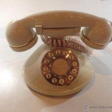 Teléfonos: TELEFONO VINTAGE JAPONES AÑOS 70 MARCA SANKEY MODELO TS-760 CON DORADOS. Lote 55919197