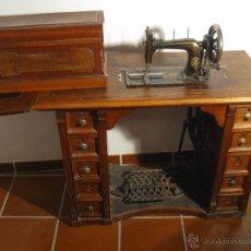 Antigüedades: MÁQUINA DE COSER WERTHEIM. Lote 50969175