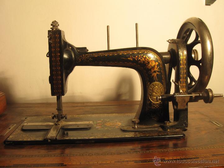 Antigüedades: Máquina de coser Wertheim - Foto 3 - 50969175