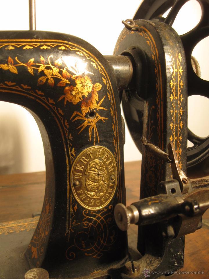 Antigüedades: Máquina de coser Wertheim - Foto 4 - 50969175