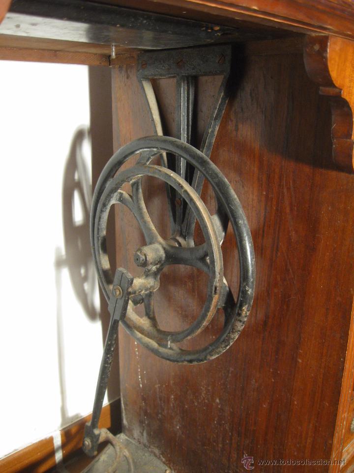 Antigüedades: Máquina de coser Wertheim - Foto 5 - 50969175