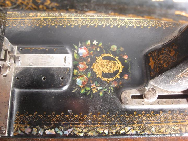 Antigüedades: Máquina de coser Wertheim - Foto 6 - 50969175