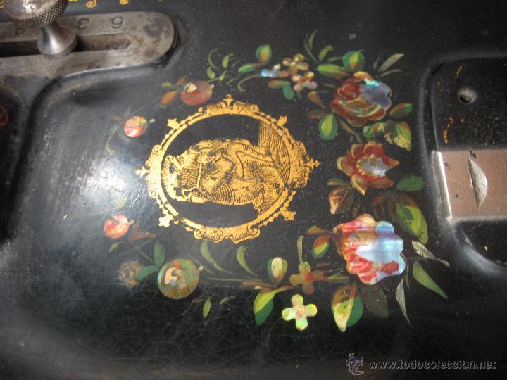 Antigüedades: Máquina de coser Wertheim - Foto 7 - 50969175