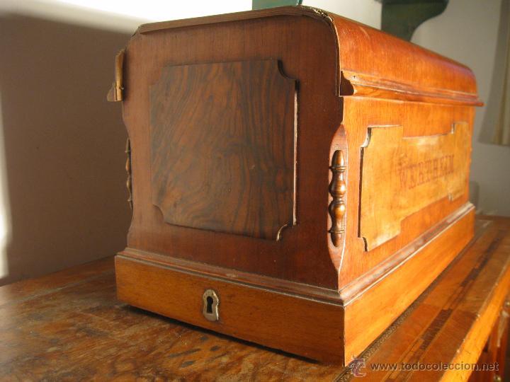 Antigüedades: Máquina de coser Wertheim - Foto 11 - 50969175