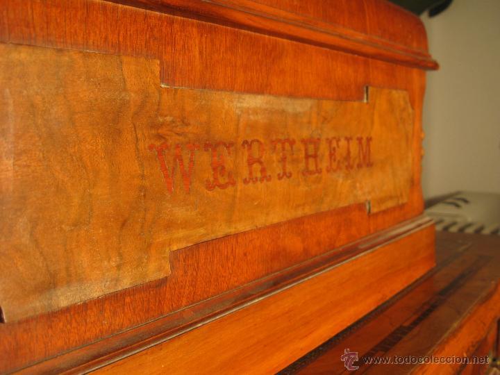 Antigüedades: Máquina de coser Wertheim - Foto 13 - 50969175