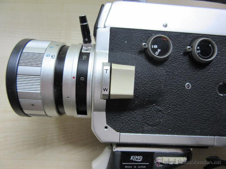 Antigüedades: Tomavistas Elmo super 106 Super 8 mm Japón Años 70 - Foto 5 - 51010725