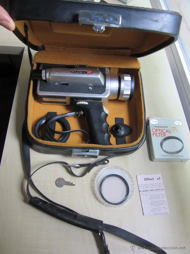 Antigüedades: Tomavistas Elmo super 106 Super 8 mm Japón Años 70 - Foto 7 - 51010725
