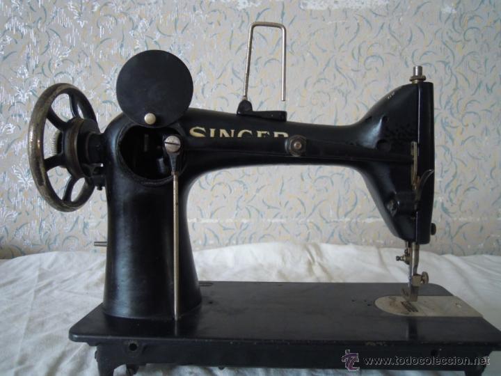 MAQUINA DE COSER SINGER SERIE Y TIPO INDUSTRIAL DE 1929 (Antigüedades - Técnicas - Máquinas de Coser Antiguas - Singer)
