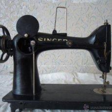 Antigüedades: MAQUINA DE COSER SINGER SERIE Y TIPO INDUSTRIAL DE 1929. Lote 51049298