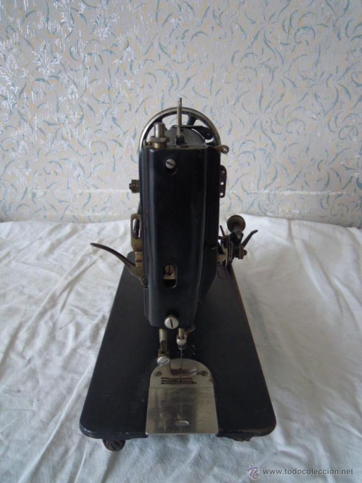 Antigüedades: MAQUINA DE COSER SINGER SERIE Y TIPO INDUSTRIAL DE 1929 - Foto 3 - 51049298