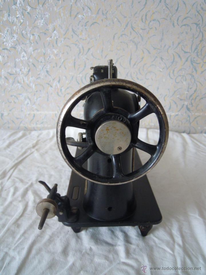 Antigüedades: MAQUINA DE COSER SINGER SERIE Y TIPO INDUSTRIAL DE 1929 - Foto 4 - 51049298