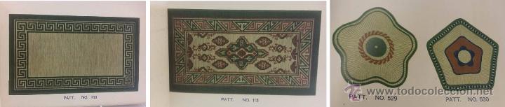 Antigüedades: ANTIGUO CATALOGO TEXTIL JAPONES CON MAS DE 500 PATRONES- EPOCA MODERNISTA - Foto 3 - 51053543