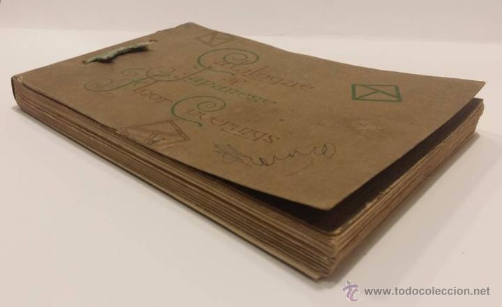Antigüedades: ANTIGUO CATALOGO TEXTIL JAPONES CON MAS DE 500 PATRONES- EPOCA MODERNISTA - Foto 4 - 51053543