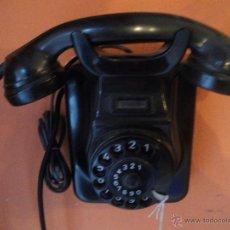 Teléfonos: TELEFONO BAKELITA , PARA COLGAR , EN PERFECTO FUNCIONAMIENTO. Lote 51078435