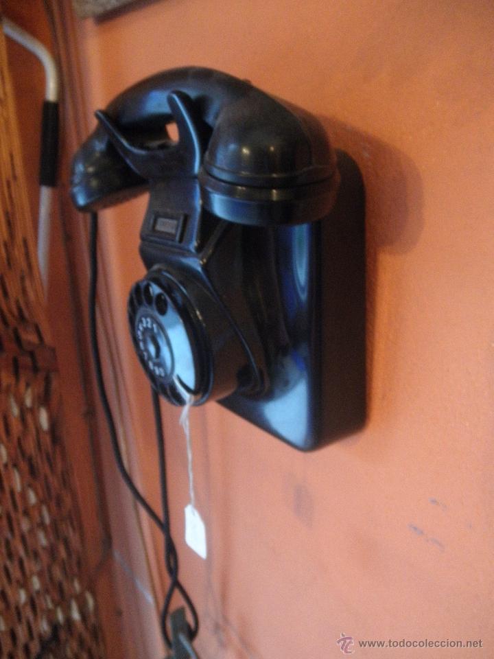 Teléfonos: TELEFONO BAKELITA , PARA COLGAR , EN PERFECTO FUNCIONAMIENTO - Foto 2 - 51078435