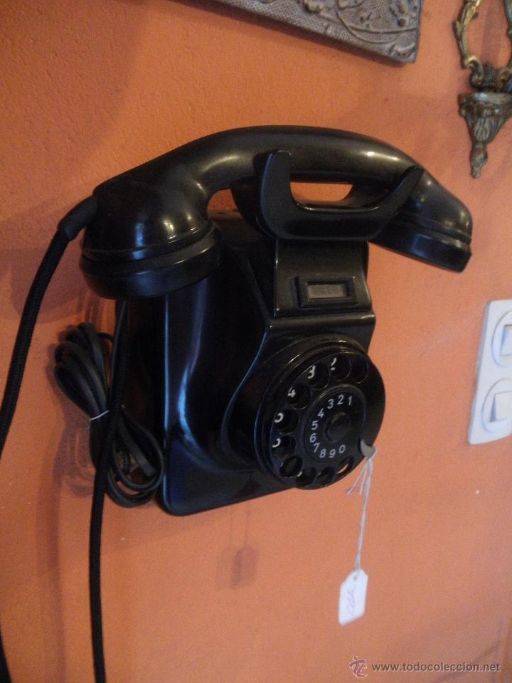Teléfonos: TELEFONO BAKELITA , PARA COLGAR , EN PERFECTO FUNCIONAMIENTO - Foto 3 - 51078435