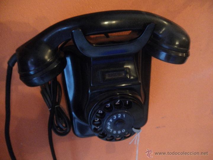 Teléfonos: TELEFONO BAKELITA , PARA COLGAR , EN PERFECTO FUNCIONAMIENTO - Foto 4 - 51078435