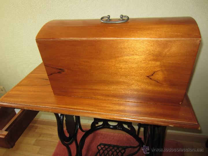 Antigüedades: Maquina de coser Wertheim con tablero - circa 1930? - Foto 3 - 51079411