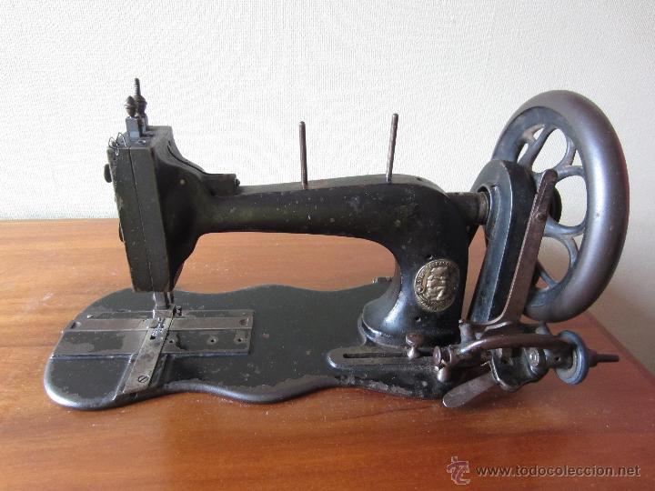 Antigüedades: Maquina de coser Wertheim con tablero - circa 1930? - Foto 6 - 51079411