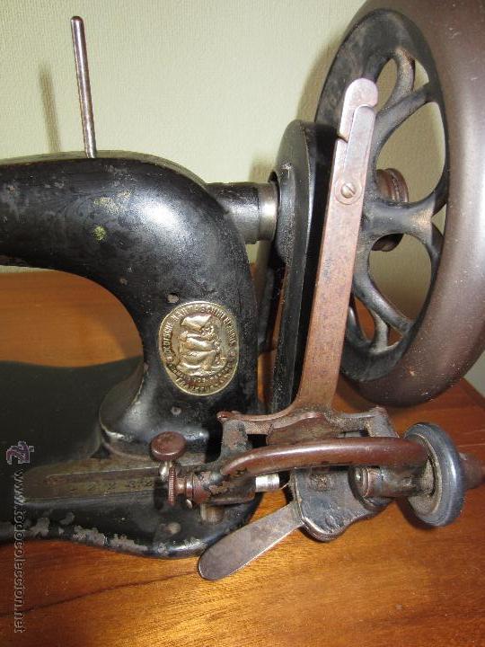 Antigüedades: Maquina de coser Wertheim con tablero - circa 1930? - Foto 9 - 51079411