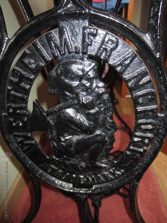 Antigüedades: Maquina de coser Wertheim con tablero - circa 1930? - Foto 10 - 51079411