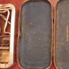 Antigüedades: ROLLS RAZOR, C.1930, VER DETALLE SISTEMA AFILADO AFEITADO,CON HOJAS. Lote 51104737