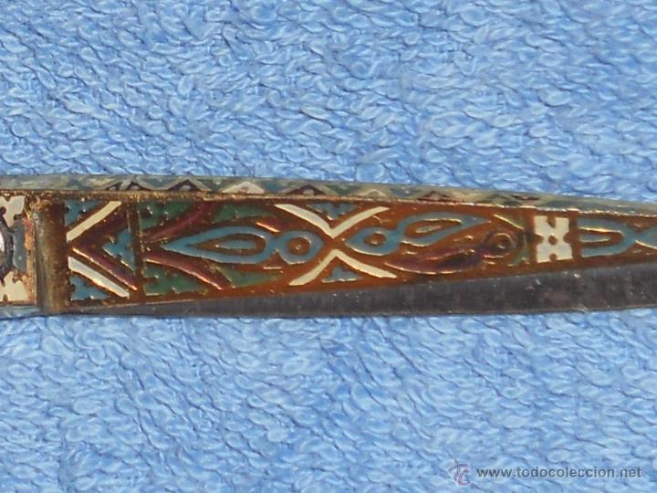 Antigüedades: ANTIGUAS TIJERAS DAMASQUINADAS DE TOLEDO . - Foto 4 - 51127016