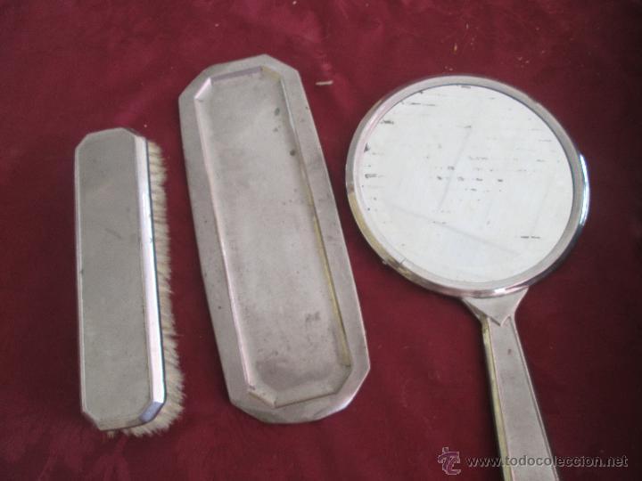 Antigüedades: bonita maleta de barbero antigua con sus erramienta completa - Foto 10 - 51137327