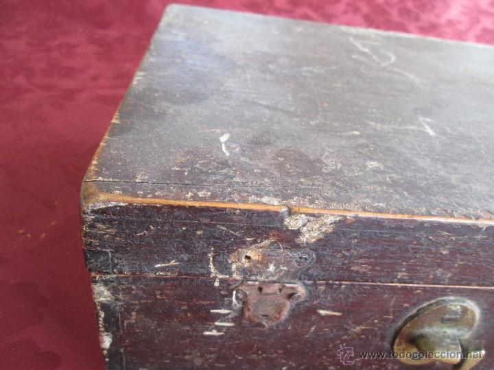 Antigüedades: bonita maleta de barbero antigua con sus erramienta completa - Foto 14 - 51137327