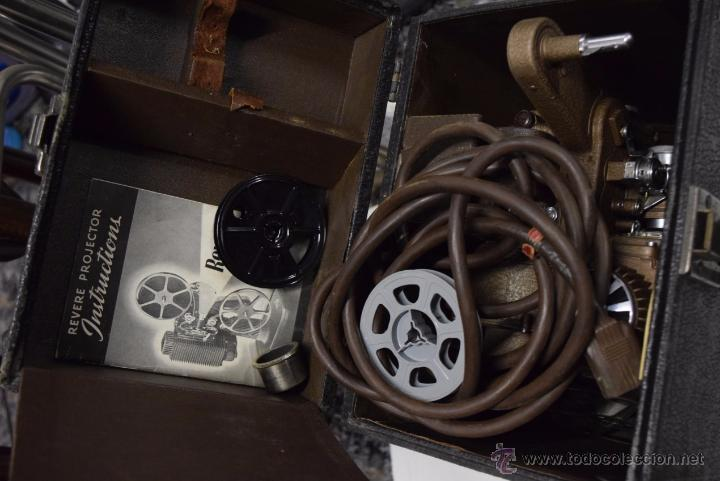 Antigüedades: Proyector made in USA REVERE.ART DECÓ. - Foto 8 - 51187418