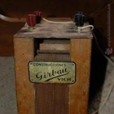 Antigüedades: TRANSFORMADOR. Lote 41317891
