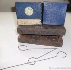 Antigüedades: ANTIGUO INSTRUMENTAL QUIRURGICO PARA PIES- INTRUMENTO DE CIRUGIA- PORGES PARIS. Lote 51212560