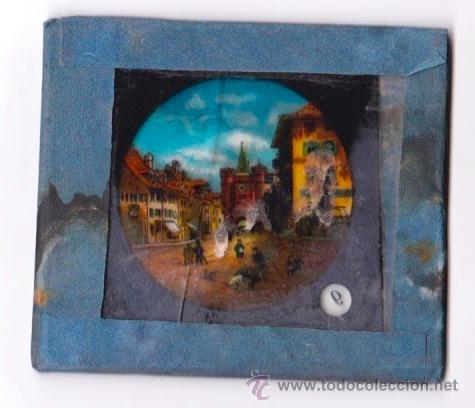 Antigüedades: 7 PLACAS INDIVIDUALES PARA LINTERNA MÁGICA - Foto 3 - 51229631