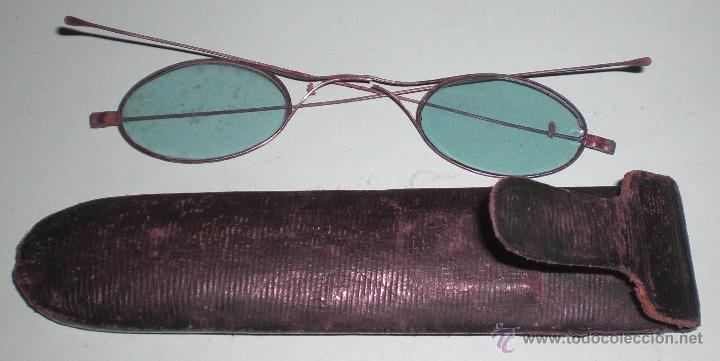 ANTIGUAS GAFAS DE 1900 (Antigüedades - Técnicas - Instrumentos Ópticos - Gafas Antiguas)