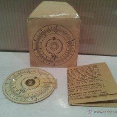 Antigüedades: ANTIGUA CIRCUNFERENCIA CALCULADORA MUY BUEN ESTADO VER FOTOS. Lote 51250052
