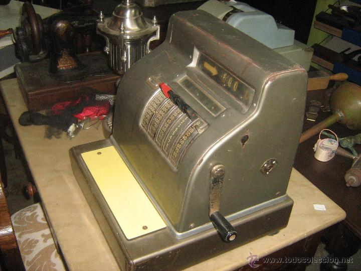 Antigüedades: Caja registradora marca AUSTRAL - Foto 2 - 116744567