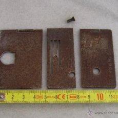 Antigüedades: PLACA DE AGUJA WHEELER & WILSON W9. Lote 51316531