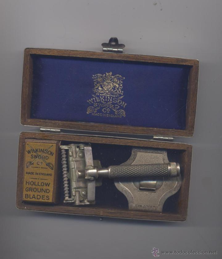ANTIGUA MAQUINA DE AFEITAR WILKINSON-INGLESA (Antigüedades - Técnicas - Barbería - Maquinillas Antiguas)