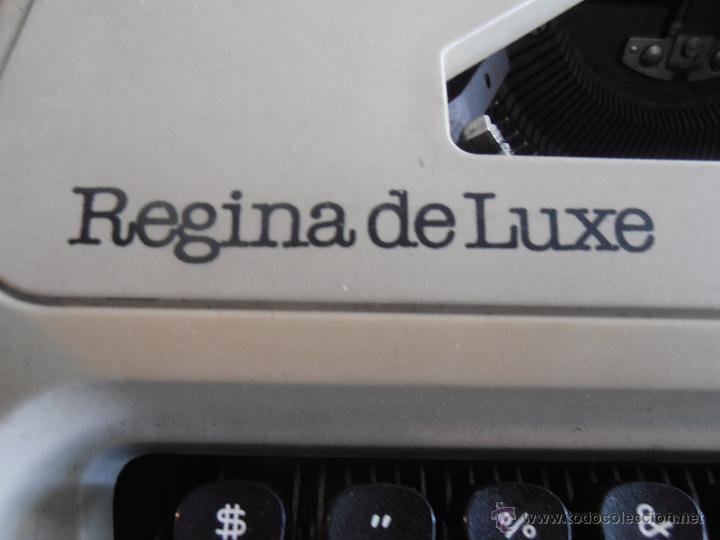 Antigüedades: MAQUINA DE ESCRIBIR, REGINA DE LUXE, OLYMPIA, ANTIGUA, CON FUNDA - Foto 4 - 51335254