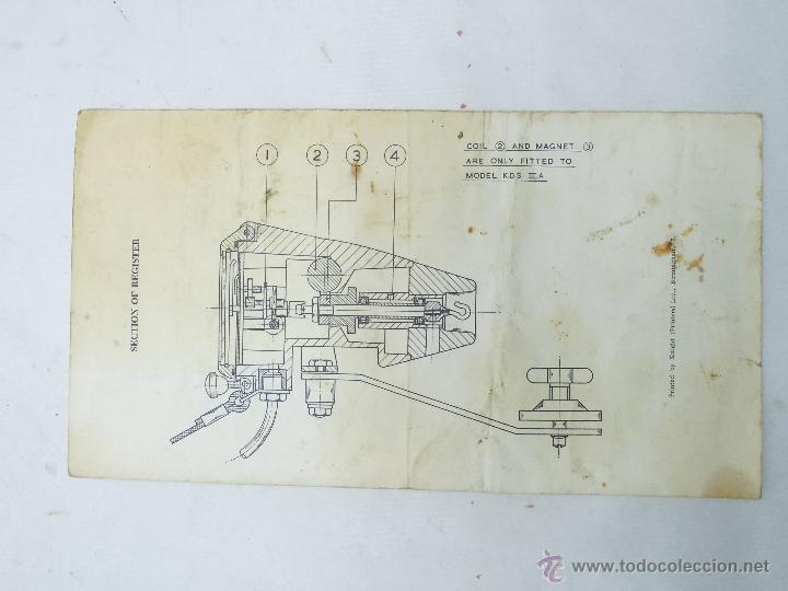 Antigüedades: CORREDERA WALKERS KNOTMASTER, INSTRUCCIONES - Foto 2 - 51355523