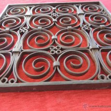 Antigüedades: REJA DE INSPIRACION ROMANICA PRECIOSA.. Lote 51359061