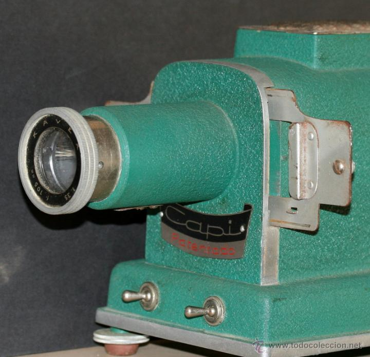 Antigüedades: Proyector de diapositivas CAPI AÑOS 50 - Foto 4 - 51407301