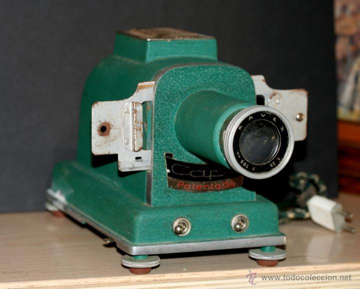Antigüedades: Proyector de diapositivas CAPI AÑOS 50 - Foto 5 - 51407301
