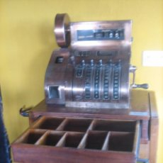 Antigüedades: ESPECTACULAR CAJA REGISTRADORA. SPECTACULAR SPANISH CASH REGISTER. Lote 51428678