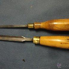 Antigüedades: 2 GUBIAS ANTIGUAS DE MARCA WARD CASTSTEEL. Lote 51459477